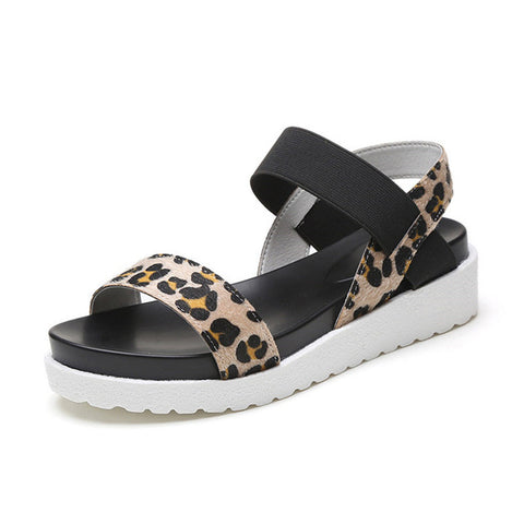 Lisa Leopard Sandal - Ultra Seller