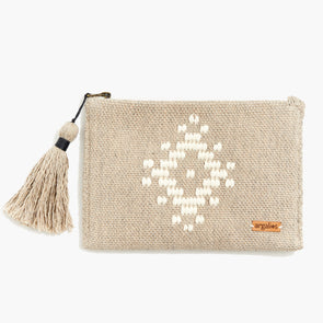LOOM Clutch (White)