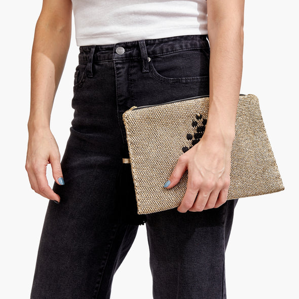 LOOM Clutch (Gold)