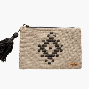LOOM Clutch (Linseed Black)
