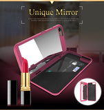 Mirror Makeup Case For iPhone 6, 6s, 7 Plus 8, X, 10 - AwesomeIWantThat.com