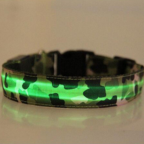 Luminous LED Dog Collar - AwesomeIWantThat.com
