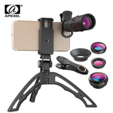 3 in 1 Wide, macro, 18x Telescope lens kit [Incl. tripod] - AwesomeIWantThat.com