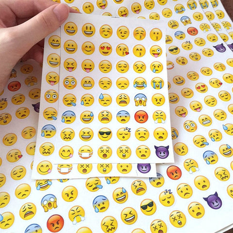 Emoji Diary Scrapbooking Stickers - AwesomeIWantThat.com