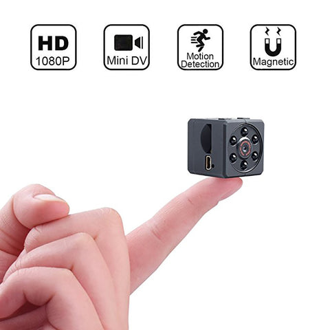1080P HD Mini Camera with Infrared Night Vision - AwesomeIWantThat.com
