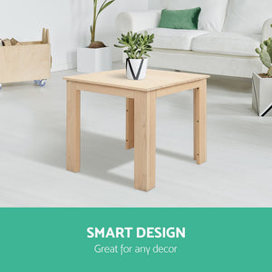 Outdoor Side Table - Natural