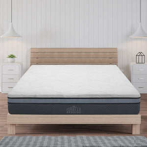 Giselle Bedding Cool Gel Memory Foam Mattress King Single Size- (Only available in VIC, NSW, SA & ACT)