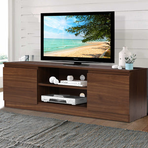 TV Stand Entertainment Unit with Storage Walnut - exclude WA NT & FNQ