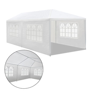 Instahut 3x6m Gazebo Party Wedding Marquee Event Tent Shade Canopy White