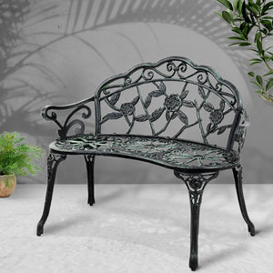 Gardeon Victorian Garden Bench - Green