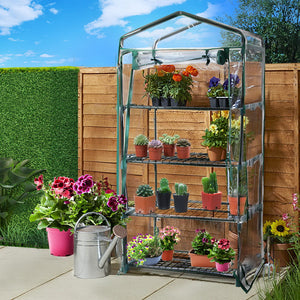 Greenfingers Greenhouse Garden Shed Tunnel Plant Green House Storage Plant Lawn