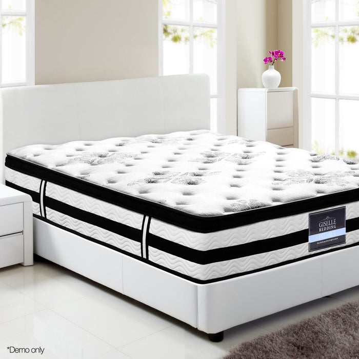 34CM Euro Top Mattress Queen - exclude WA NT & FNQ
