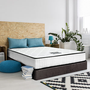 High Density Foam Pocket Spring Mattress 21cm Double -Not available WA NT & FNQ