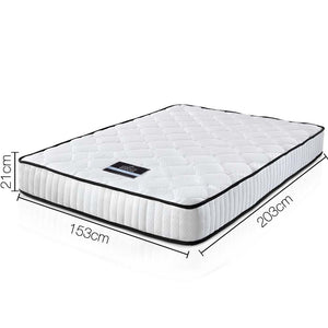 High Density Foam Pocket Spring Mattress 21cm Queen -Not available WA NT & FNQ