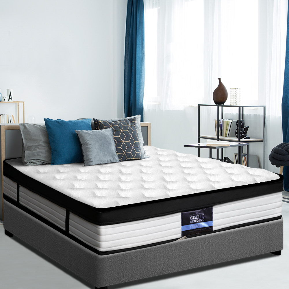 Giselle Bedding Euro Top Mattress - King 31cm - (Not available WA, NT and Far NQ)