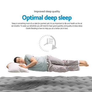 Double Size Spring Foam Mattress Top - (Not available in QLD, TAS, WA & NT)