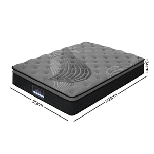 King Size Spring Foam Mattress Top - (Not available in QLD, TAS, WA & NT)