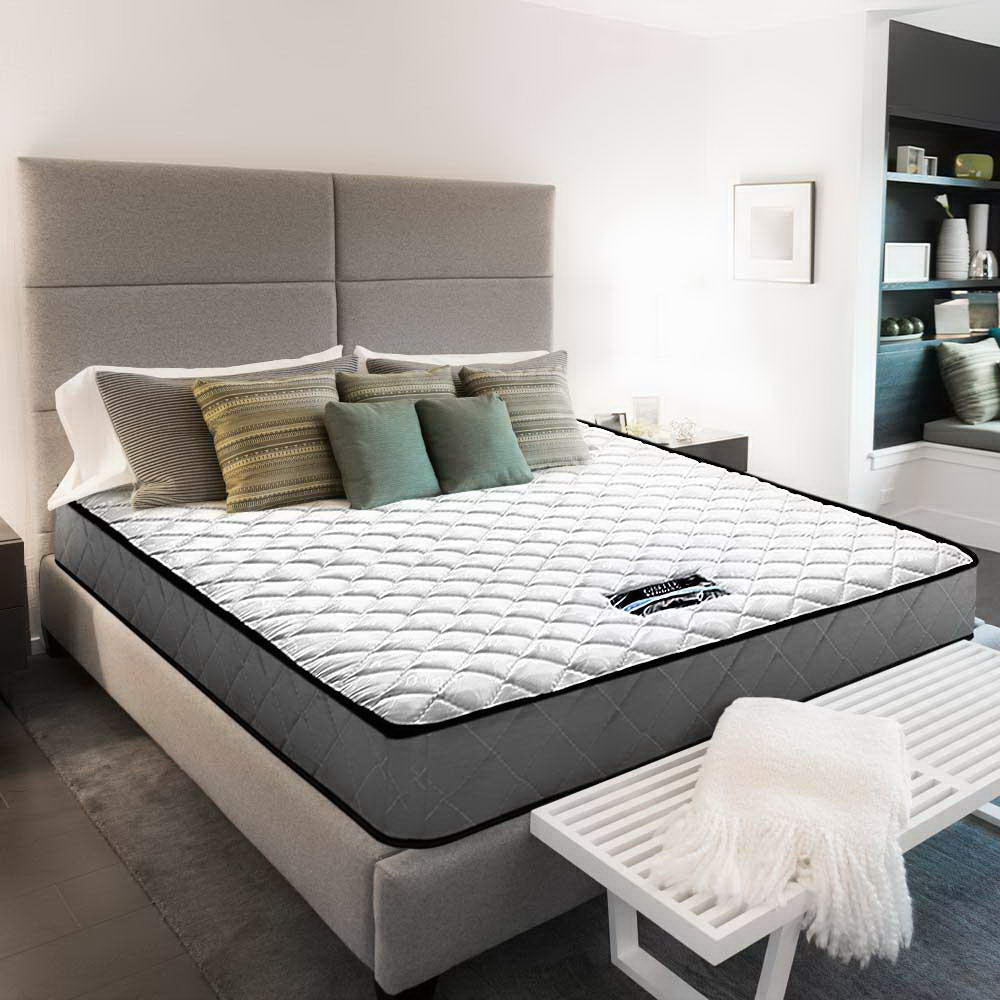 Bonnell Spring Medium Firm Mattress Queen - (Not available WA, NT and Far NQ)