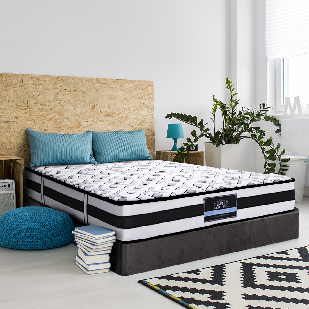 Giselle Spring Foam Mattress 24cm Double Size - (Not available in WA, NT and Far NQ)