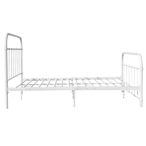 Queen Metal Bed Frame White - (Not available Qld Tas WA & NT)