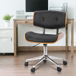 Executive Walnut Office Chair