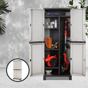 Outdoor Lockable Storage Cabinet