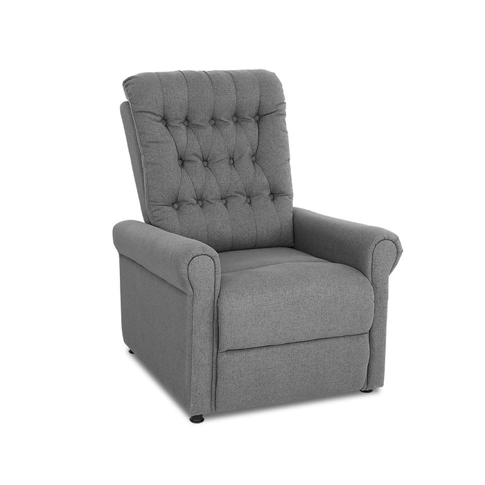 Artiss Massage Recliner Chair Electric Armchair 8 Point Heated Grey - (Not available in QLD, TAS, WA & NT)