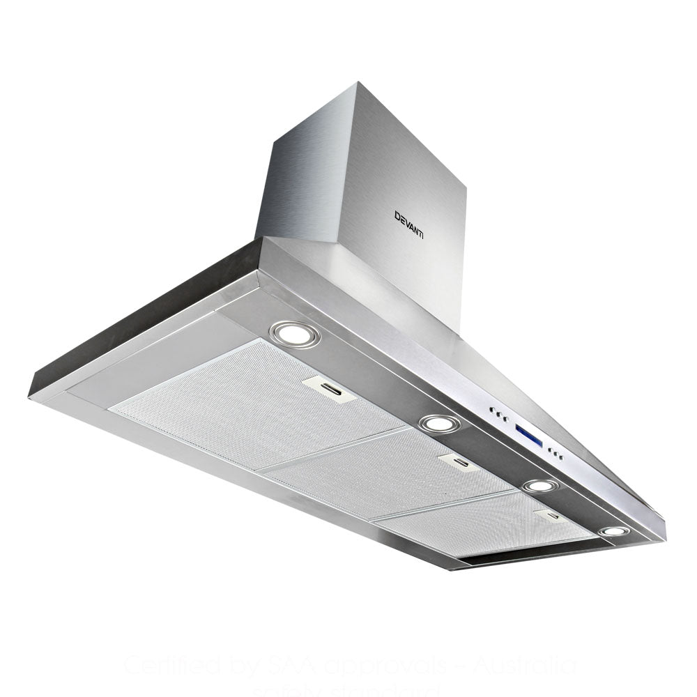 Devanti Double Motor Rangehood 1500mm - (Not available in QLD, TAS, WA & NT)