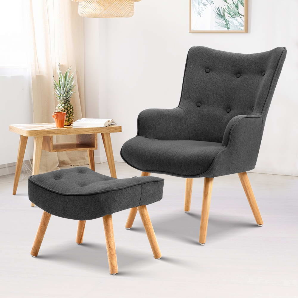 Artiss LANSAR Lounge Accent Chair - (Not available in TAS, WA & NT or any remote/regional areas)