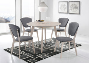 Set of 2 Dining Chair Solid hardwood White Wash - (Only available in VIC, NSW, SA & ACT)