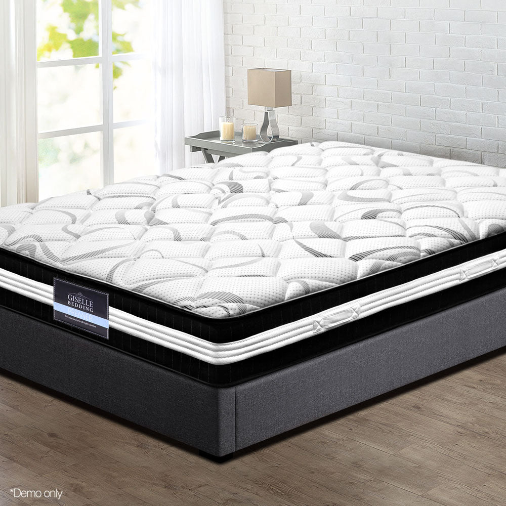 30CM Medium Firm Pocket Spring Mattress - Single