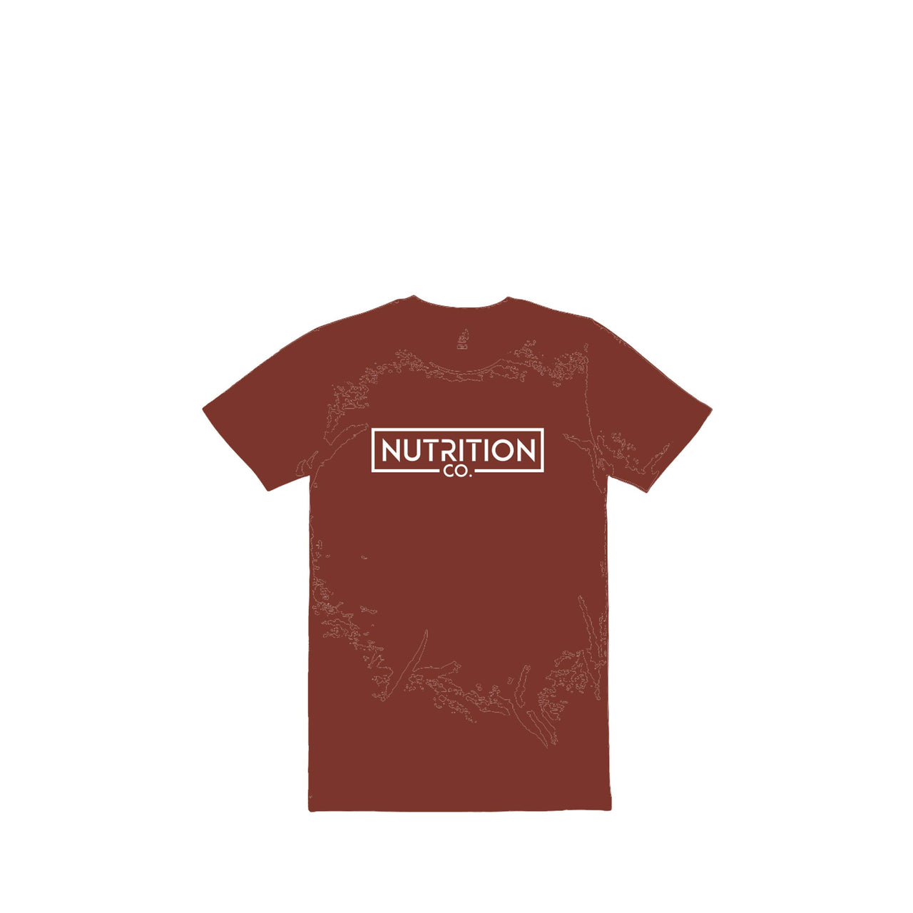 Nutrition Co White Original Brick Tee