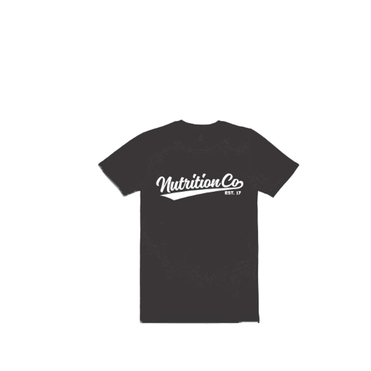 Nutrition Co white Baller Black Stone Tee