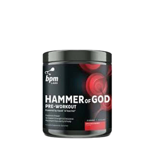 BPM Labs hammer of God, BPM Labs - Nutrition Co Australia