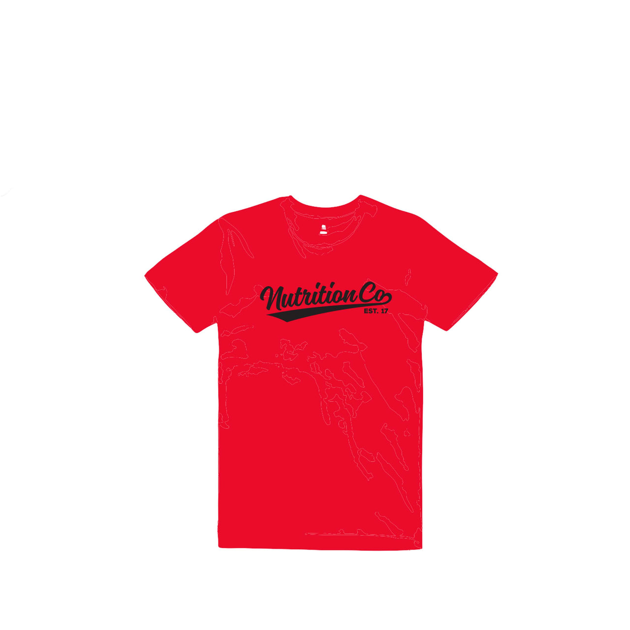 Nutrition Co Black Baller Red Tee