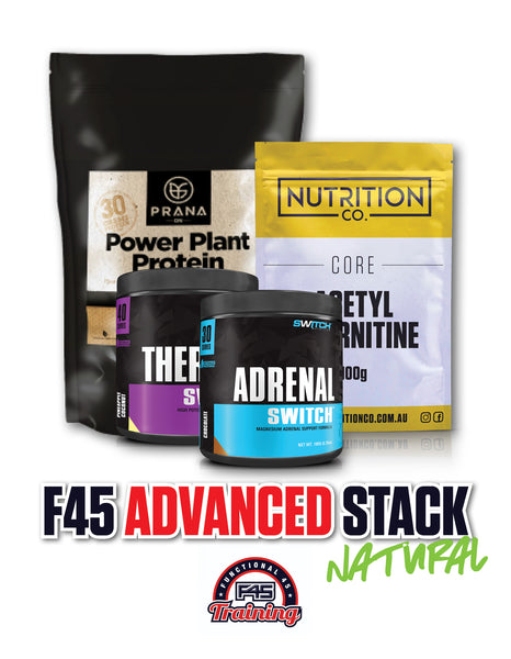 F45 ADVANCED NATURAL PACK, Nutrition Co Australia - Nutrition Co Australia