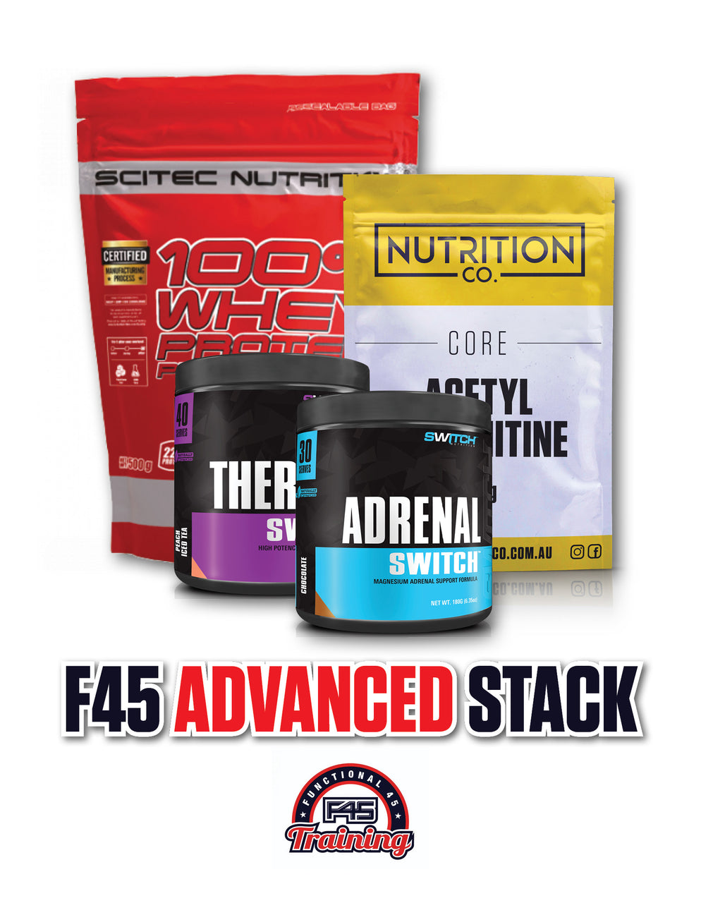 F45 ADVANCED PACK, Nutrition Co Australia - Nutrition Co Australia