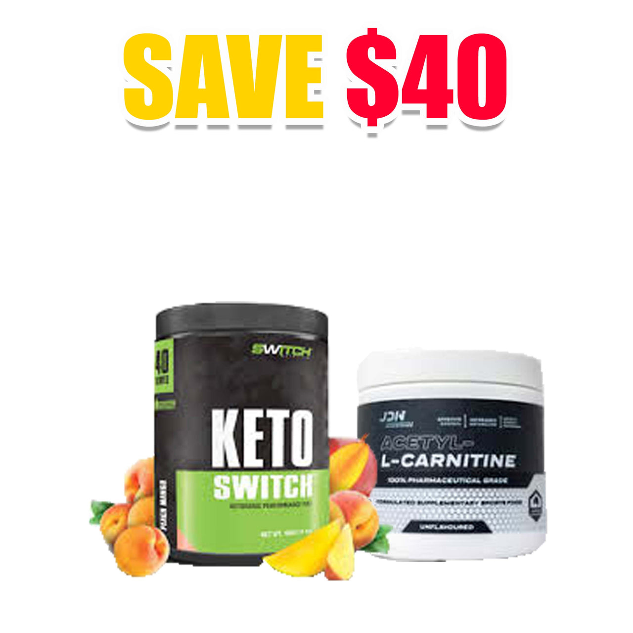 KETO Switch + L-Carnitine Stack, Nutrition Co Australia - Nutrition Co Australia
