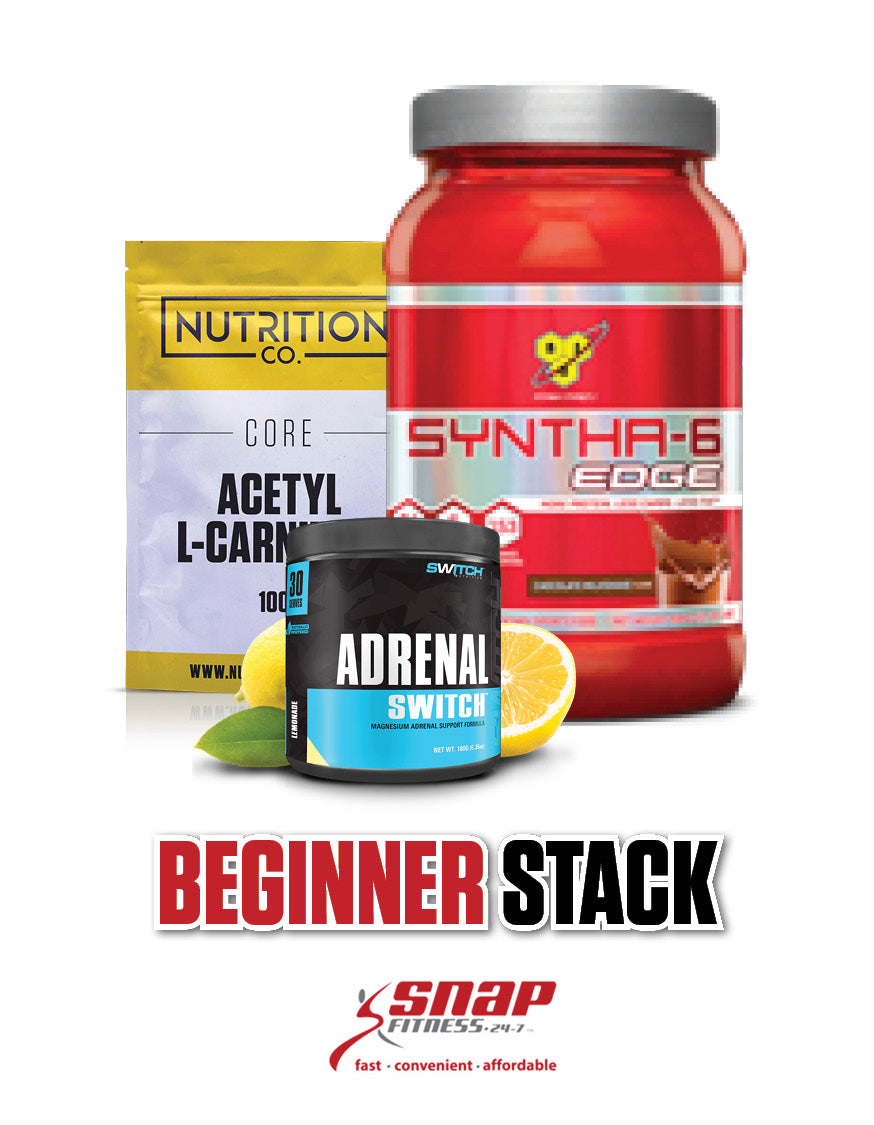 Snap Fitness Beginner Stack, Nutrition Co Australia - Nutrition Co Australia