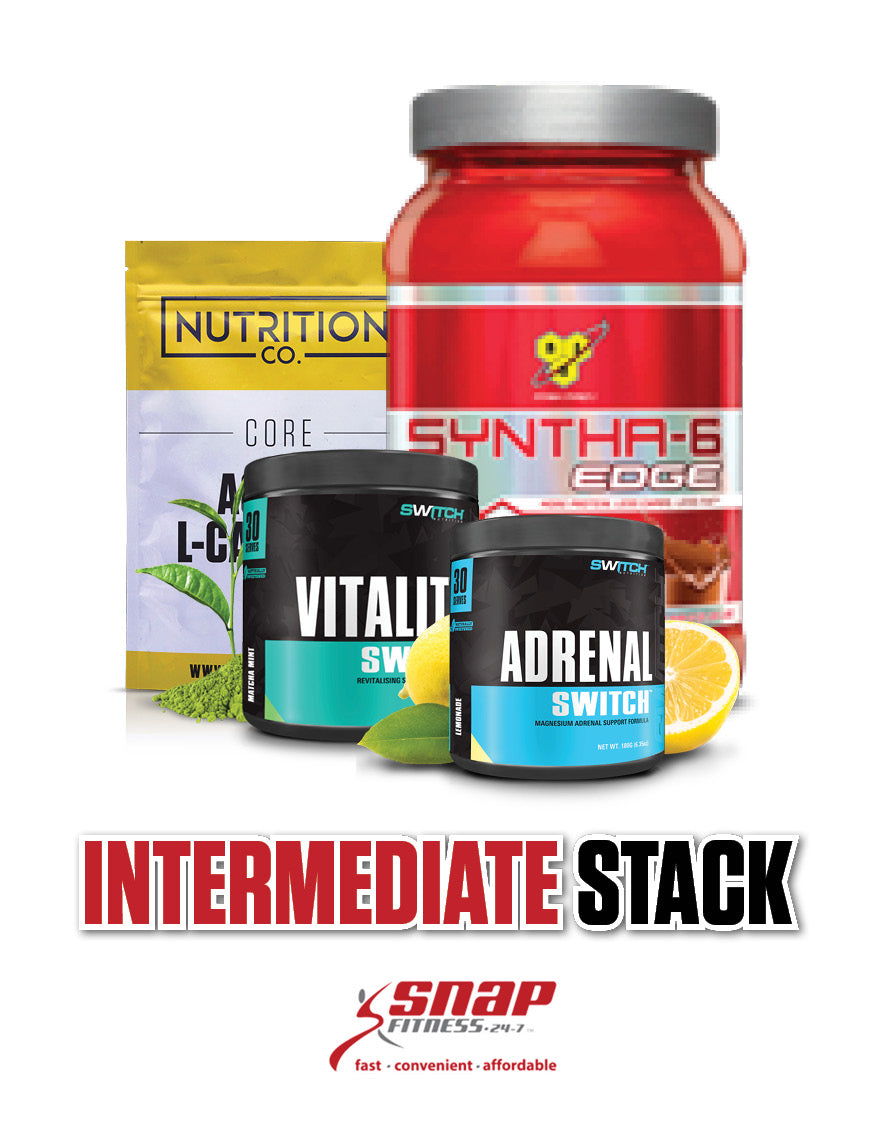 Snap Fitness Intermediate Stack - Nutrition Co Australia