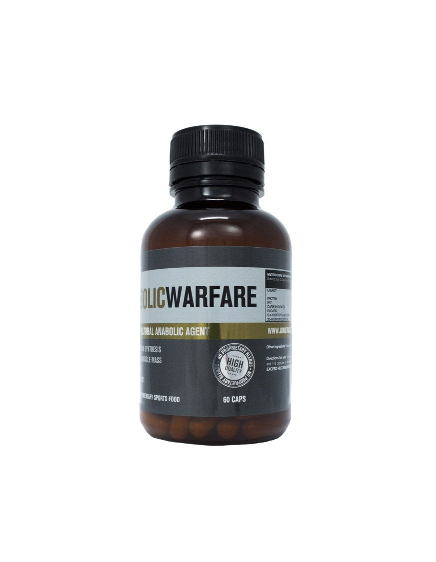 JD Nutraceuticals Anabolic Warfare 60 Caps, JD Nutraceuticals - Nutrition Co Australia