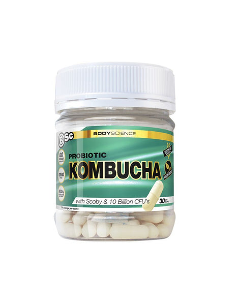 BSC Kombucha 60 caps, Body Science - Nutrition Co Australia