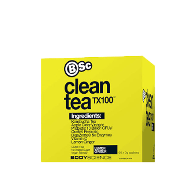 BSC Clean Tea TX100, Body Science - Nutrition Co Australia