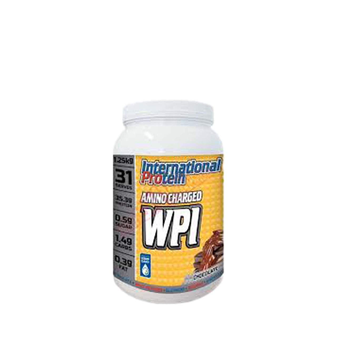 International Protein Amino Charged WPI 1.25KG - Nutrition Co Australia