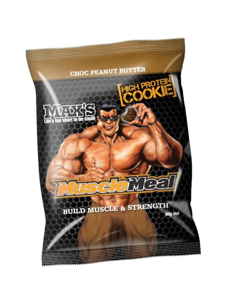 Maxs Muscle Meal Cookie, Max's Supplements - Nutrition Co Australia