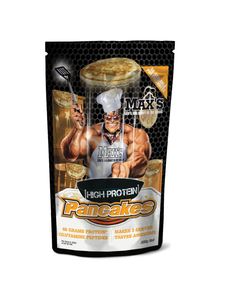 Maxs Pancakes 300g, Max's Supplements - Nutrition Co Australia