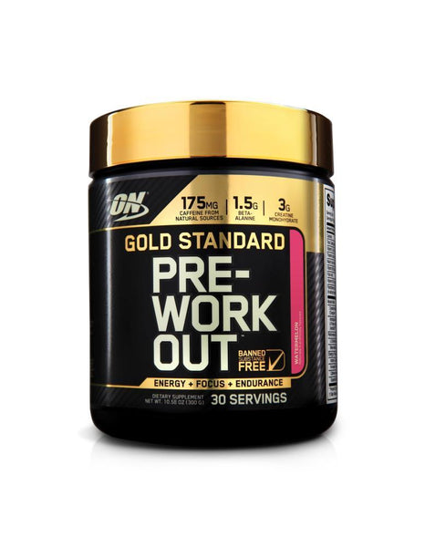 Optimum Nutrition Gold Standard Pre-Workout 30 serves - Nutrition Co Australia