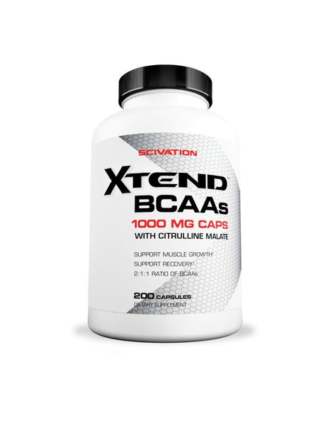 Scivation BCAA's 200 capsules, Scivation - Nutrition Co Australia