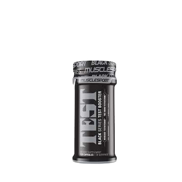 Muscle Sport Black Test 120 capsules, Muscle Sport - Nutrition Co Australia