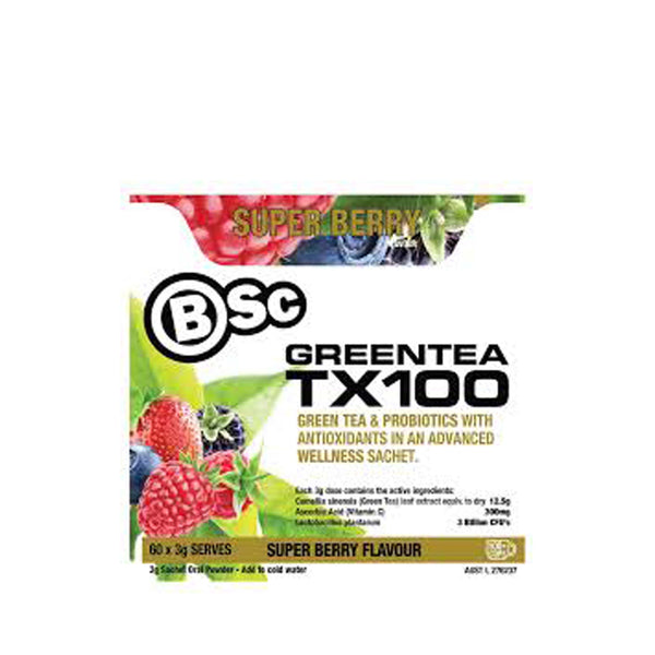 BSC TX100 60 serves - Nutrition Co Australia